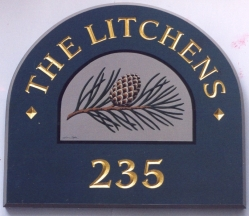 LItchens cottage sign
